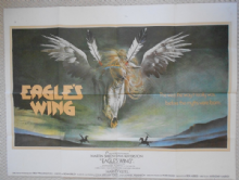 Eagles Wing, Original UK Quad Poster, Martin Sheen, Harvey Keitel, '79